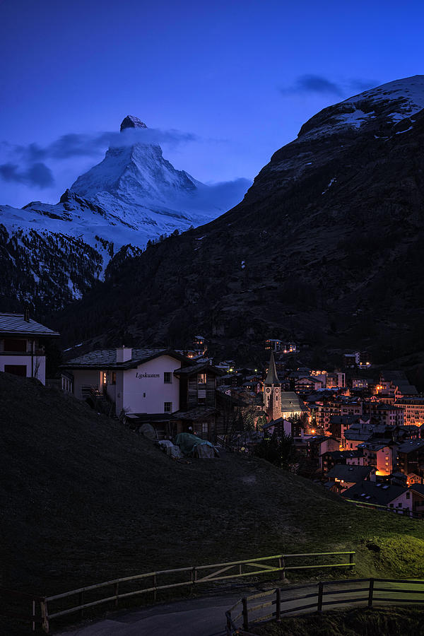 Zermatt Blue by Robert Fawcett
