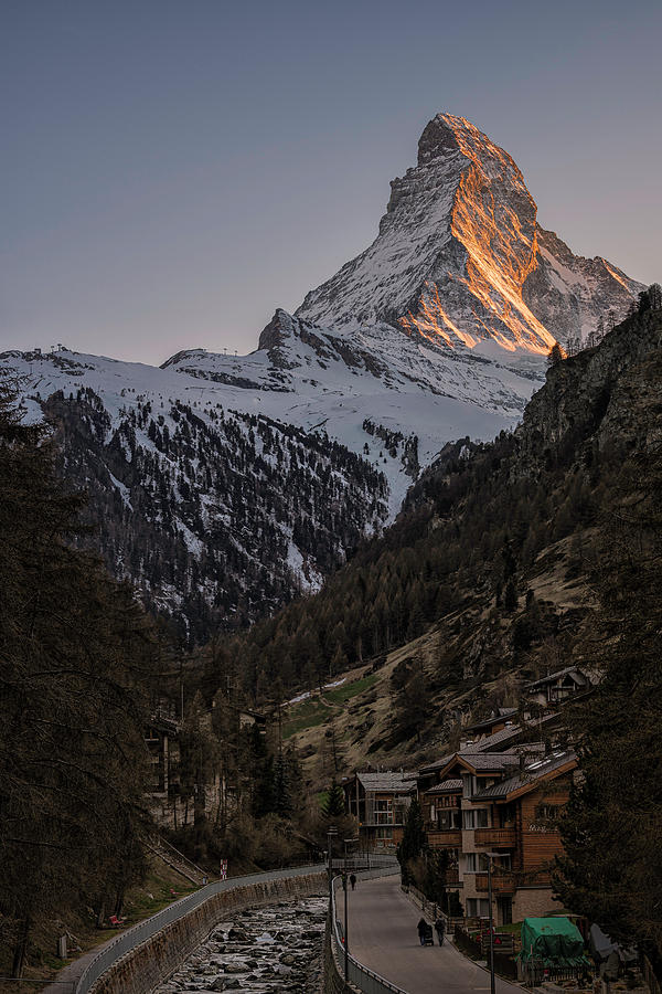Zermatt Switzerland by Robert Fawcett