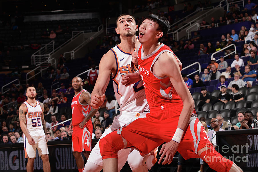 Zhou Qi Photograph by Michael Gonzales