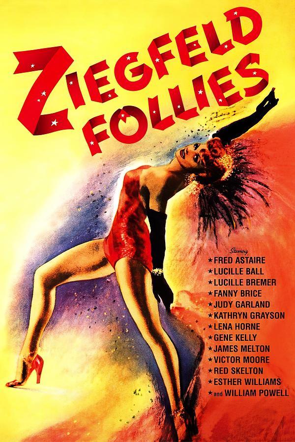 ziegfeld Follies, 1945 Mixed Media