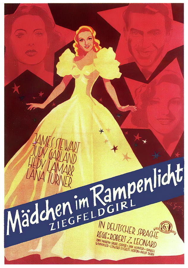 ziegfeld Girl - 1941 Mixed Media