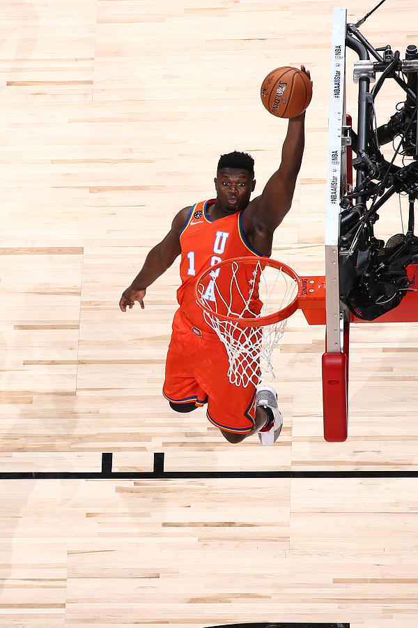 Zion Williamson Photograph by Nathaniel S. Butler