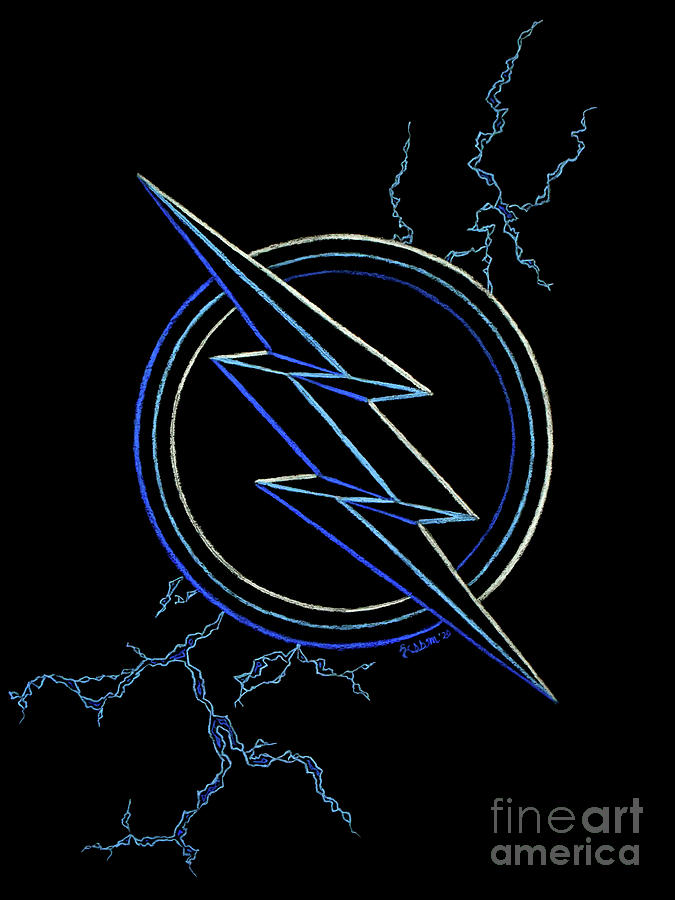 Zoom Symbol The Flash Drawing By Kassidy Monday Check out our the flash symbol selection for the very best in unique or custom, handmade pieces did you scroll all this way to get facts about the flash symbol? zoom symbol the flash by kassidy monday