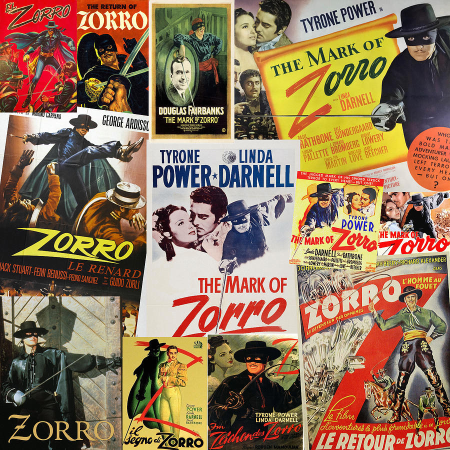 Zorro by Andrew Fare