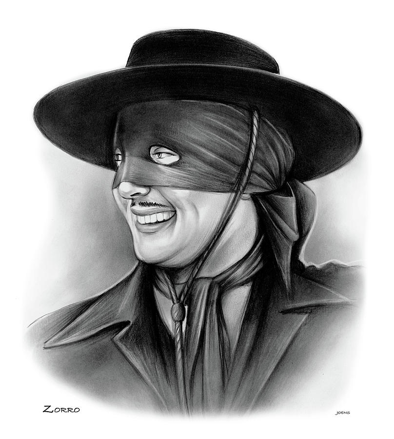 Zorro Drawing