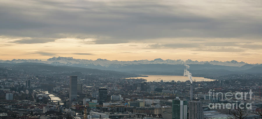 Zurich City by Mirza Cosic
