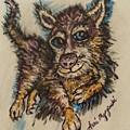 Blue Eyed Husky by Geraldine Myszenski