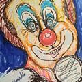 Happy Clown by Geraldine Myszenski