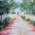 A Country Road by Vicki  Housel