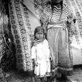 American Indian Woman Female Daughter 1890s by Mark Goebel