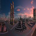 Amsterdam City Nighttime Image by Heinz G Mielke