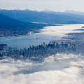 An Aerial View Of Vancouver by Taylor S. Kennedy