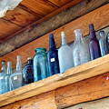 Antique Bottles Blues by Heather S Huston