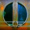 Art Deco Door In Halifax Nova Scotia by John Malone