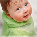 Baby Blue Eyes by Michael Greenaway