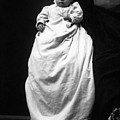 Baby In Long Dress 1903 Black White 1900s by Mark Goebel