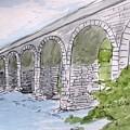 Ballydehob Bridge Ireland by Carol Veiga