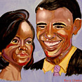 Barak And Michelle Obama   The Power Of Love by Rusty Gladdish