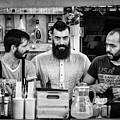 Three Barmen by Jan Komsta