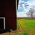 Barn Corner by Ty Helbach