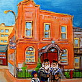 Beautiful Synagogue On Bagg Street by Carole Spandau
