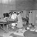 Blood Drive 1958 Black White 1950s Archive Brick by Mark Goebel