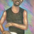 ' Bongo Man I by Jan Gilmore