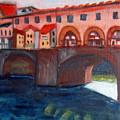 Bridge On The Arno by Lia  Marsman