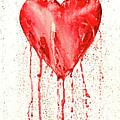 Broken Heart - Bleeding Heart by Michal Boubin