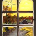 Broken Window Dreamy Mirage by Claude Beaulac
