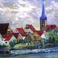 Brucker Kirche by Alfred P  Verhoeven