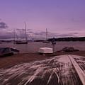 Canadian Harbor At Dusk  by Sven Brogren