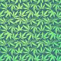 Cannabis   Hemp  420   Marijuana  Pattern by Philipp Rietz