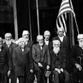 Civil War Veterans October 8 1923 Black White by Mark Goebel