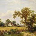 Essex Landscape  by James Edwin Meadows