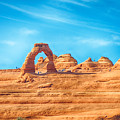Famous Delicate Arch In Arches National Park by Alex Grichenko