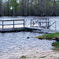 Fishing Boat Dock  by Bill Perry
