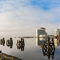 Fog In The Bay 2 by Steve Purnell