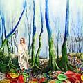 Forest Of Divine Light by Gordon Behr
