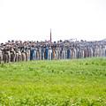 Gettysburg Confederate Infantry 0157c by Cynthia Staley