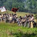 Gettysburg Confederate Infantry 9281c by Cynthia Staley