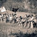 Gettysburg Confederate Infantry 9281s by Cynthia Staley
