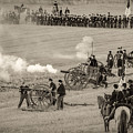 Gettysburg Union Artillery And Infantry 7439s by Cynthia Staley