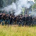 Gettysburg Union Infantry 9360c by Cynthia Staley