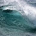 Green Cresting Wave, Hawaii by Debra Banks