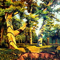 Green Summer-the Oak Forest by Henryk Gorecki