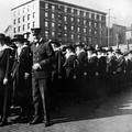Group Women Females In Navy Circa 1918 Black by Mark Goebel
