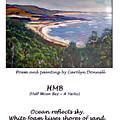 Half Moon Bay - A Haiku by Carolyn Donnell