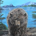 Hello Grizzley Bear by Aleta Parks