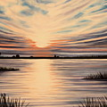 Highlights Of A Sunset by Elizabeth Robinette Tyndall